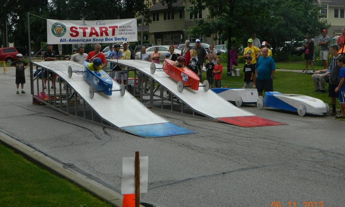Greater Chicago Soap Box Derby - Naperville Center For Commerce & Industry: Up to 67% Off Race Fee at Greater Chicago Soap Box Derby