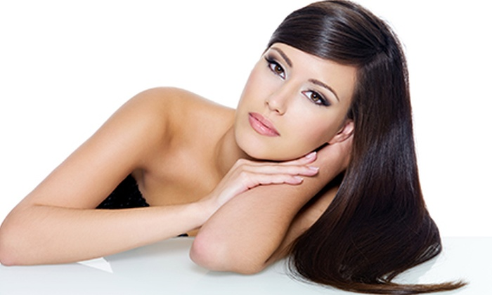 Chop Shop Salon - Bakersfield: Haircut and a Deep-Conditioning Treatment with Option for Partial or Full Highlights or Full Coloring (Up to 55% Off)