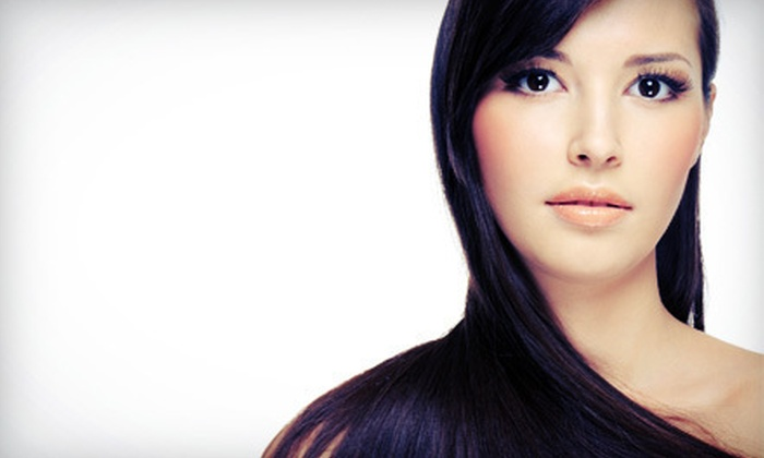 Hair Gallery - Mission Viejo: Cut, Condition, and Blowout with Optional Single-Process Color or Partial Highlights at Hair Gallery (Up to 63% Off)