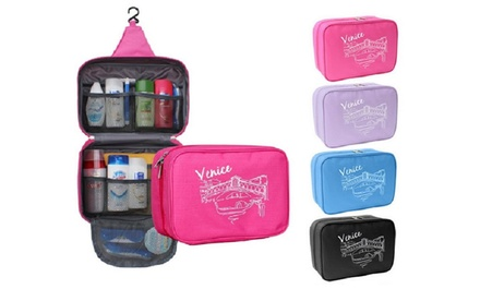 One (AED 49) Two (AED 79) or Four (AED 139) Hanging Travel Toiletry Organizers