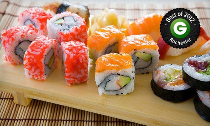 California Rollin' Sushi Bar - Atlantic-University: $20 for $40 Worth of Sushi at California Rollin' Sushi Bar