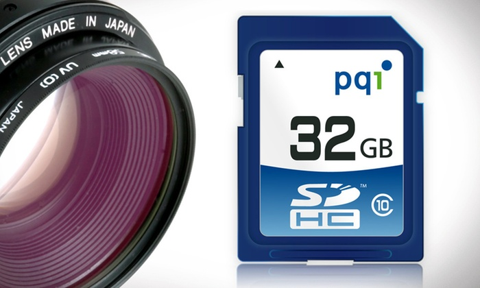 PQI 32-Gigabyte SDHC Flash Memory Cards: One or Two 32-Gigabyte PQI SDHC Class 10 Flash Memory Card (Up to 51% Off). Free Shipping and Free Returns.