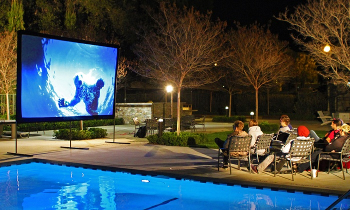 Yard Master Weather Resistant Outdoor Projection Screens: Yard Master Outdoor  Projection Screens.
