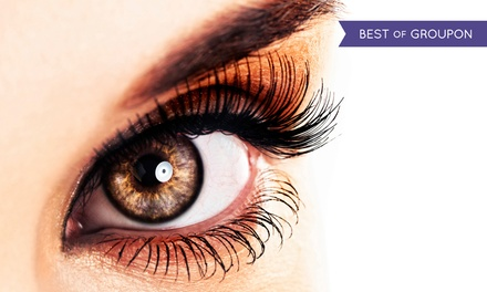Full Set of Eyelash Extensions with Optional Fill at BodyBrite (Up to 66% Off)