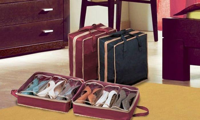 Porta scarpe da viaggio groupon goods - Scarpe da letto ...
