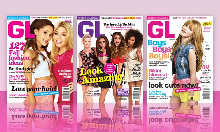 Girls' Life Magazine Subscription: 1- or 2-Year Subscription to Girls' Life Magazine