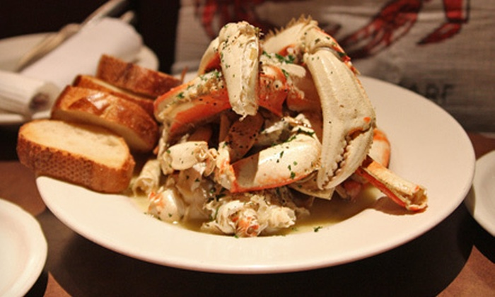 Capurro's - Fisherman's Wharf: $35 for a Woodstone-Roasted Crab Dinner for Two at Capurro's ($76.90 Value)