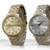 Men's and Women's Rhinestone-Accented Watches