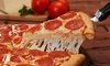 Godfathers Pizza - San Jacinto: Food and Drink for Two or Four or Take-Out at Godfathers Pizza (Up to 40% Off). Five Options Available.