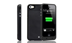 Academy of Commons: $38 for a Black Power iPhone 5 and 5S Case with Backup Battery at Academy of Commons ($80 Value)