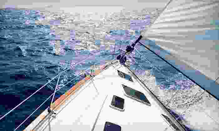 The Sailing Academy - The Sailing Academy: Intro Sailing Course for Two or Sailing Excursion for Up to Five on the Chesapeake Bay from The Sailing Academy (Half Off)