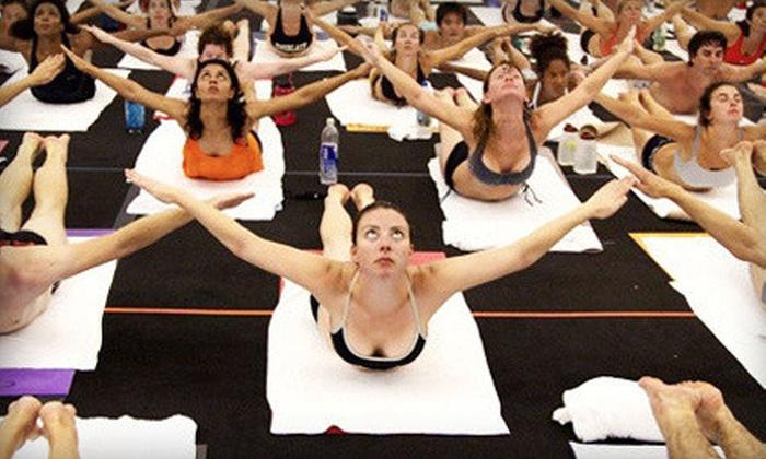 Ocean State Bikram Yoga - Pawtucket: $40 for 10 Classes at Ocean State Bikram Yoga in Pawtucket (Up to $140 Value)