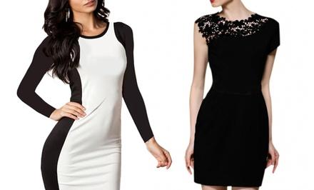 Jade & Juliet Women's Roxanne or Petra Dress