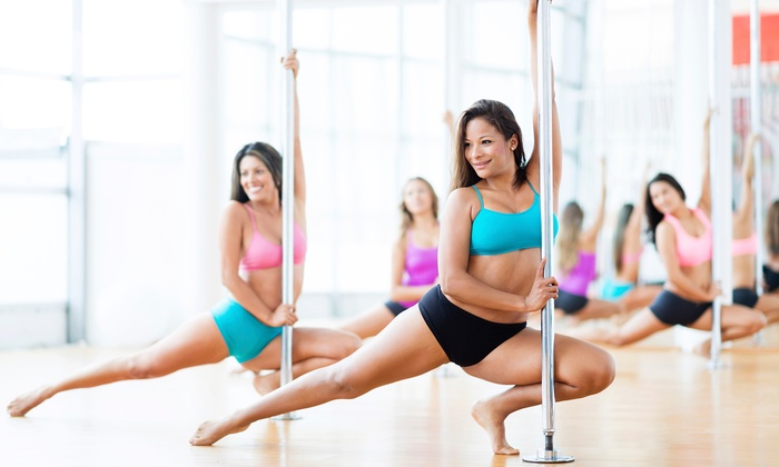Allure Fitness - Mission: Four Weeks of Pole-Fitness Classes at Allure Fitness (76% Off)