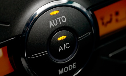 Car Air Conditioning Service with Re-Gas at Wsm Car And Van Centre
