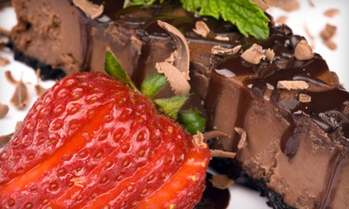Cheesecake Amor Cafe & Wine Bar - Craig Ranch: Three-Course Dinner for Two or Four at Cheesecake Amor Cafe & Wine Bar in McKinney (Up to 57% Off)