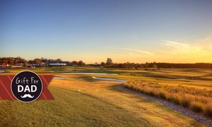 Lynwood Country Club: 18 Holes of Golf, Cart Hire, Burger and Drink for Two ($79) or Eight ($309) at Lynwood Country Club (Up to $664 Value)