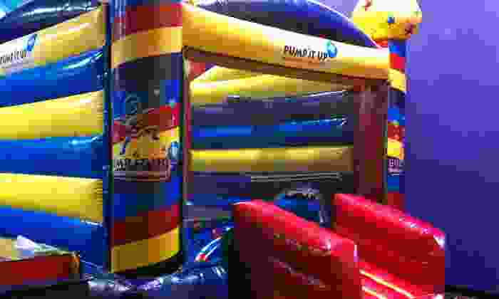 Pump It Up and Pump It Up Junior - Multiple Locations: 5 or 10 Play Visits at Pump It Up & Pump It Up Junior (Up to 63% Off)