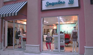 Sequins B: $25 for $50 Worth of Women's Clothes and Accessories at Sequins B