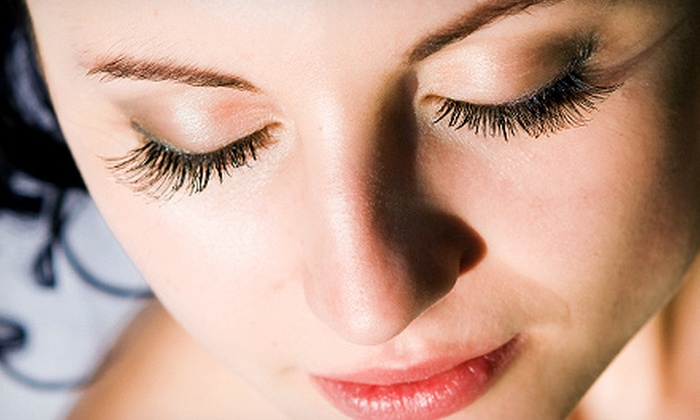 Nu Skin Laser Solutions - Nu Skin: Full Set of Eyelash Extensions with Option of Touchup at Nu-Skin Laser Solutions (Up to 74% Off)