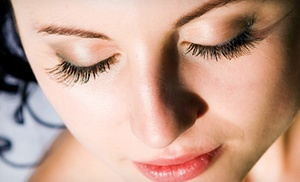 Nu Skin Laser Solutions: Full Set of Eyelash Extensions with Option of Touchup at Nu-Skin Laser Solutions (Up to 74% Off)