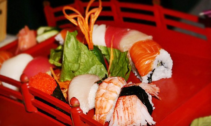 Fuji Sushi Bar and Grill - North Central Pensacola: Sushi and Japanese Fare During Lunch or Dinner at Fuji Sushi Bar & Grill (Up to 53% Off)