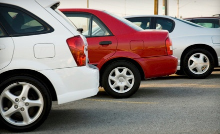 $5 for One Day in Uncovered Valet Lot at WallyPark Airport Parking ($9.95 Value)