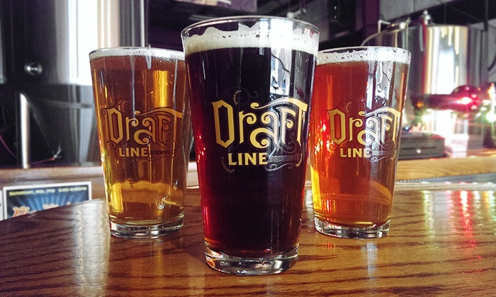 Draft Line Brewing Company - Fuquay-Varina: Brewery Tour Experience for Two or Four at Draft Line Brewing Company (50% Off)