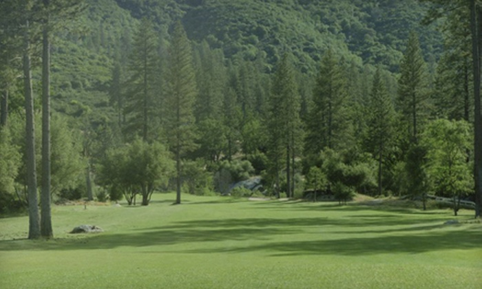 River Creek Golf Course - Ahwahnee: $33 for 18 Holes of Golf for Two with Range Balls and Fountain Drinks at River Creek Golf Course ($66 Value)