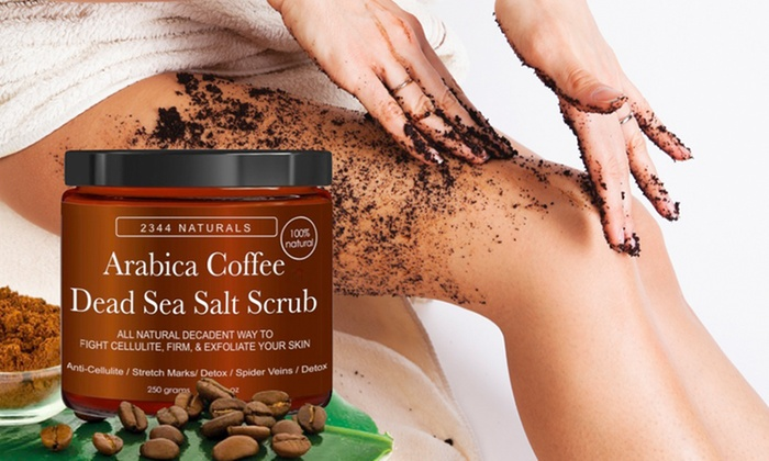 Anti-Cellulite Arabica Coffee and Dead Sea Salt Scrub (8.8 Fl. Oz.)
