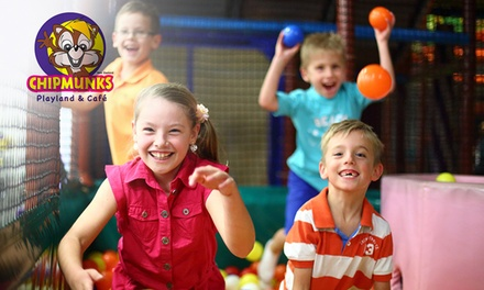 Entry for One $6.50 or Two Children $12 to Chipmunks Dandenong Up to $27.80 Value