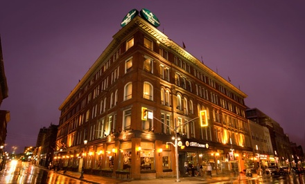 Groupon Deal: 1-Night Stay with Breakfast and Museum Tickets at The Walper Hotel in Kitchener, ON