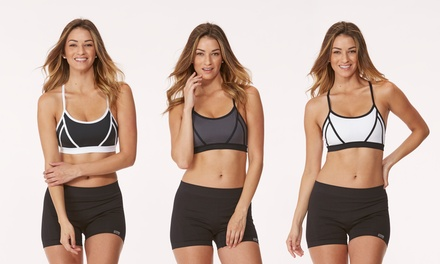 3-Pack Marika Tek Adjustable Sport Bra