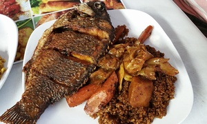 Badou Senegalese Cuisine: $10 for $15 Worth of Senegalese Takeout and Delivery at Badou Senegalese. Order Online.