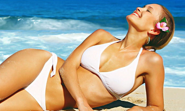 GLO | Mobile Spray Tanning - North Bellport: One or Three Mobile Spray Tans from GLO | Mobile Spray Tanning (Up to 67% Off)