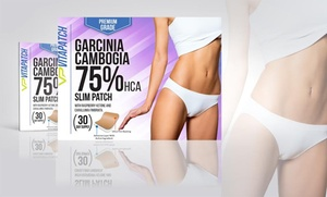 30-day Supply Of Vitapatch Garcinia-cambogia 75%-hca Slimming Patches (30-pack)