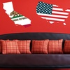 US State Wall Decals
