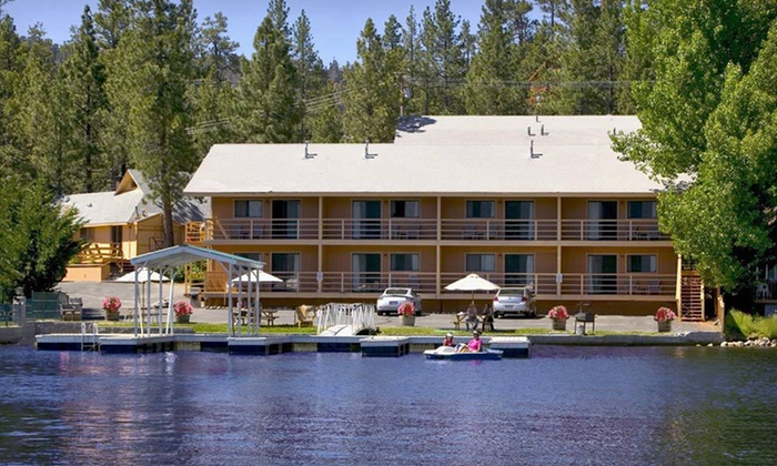 Big Bear Lake Front Lodge - Big Bear Lake, CA: Two-Night Stay for Two at Big Bear Lake Front Lodge in Big Bear Lake, CA
