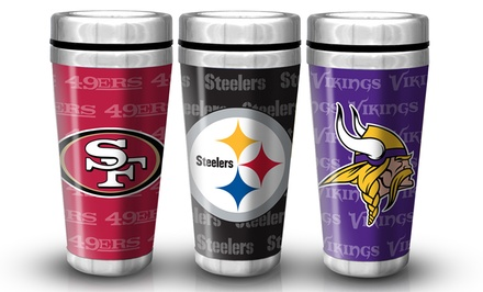 NFL 16 Oz. Full Wrap Travel Mug
