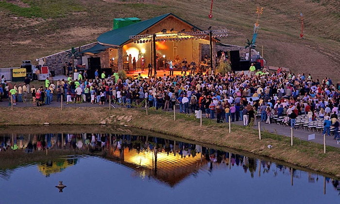 Elk Creek Vineyards - Owenton, KY: Country or Classic-Rock Tribute for Two at Elk Creek Vineyards on May 23, July 18, or August 29 (Up to 50% Off)