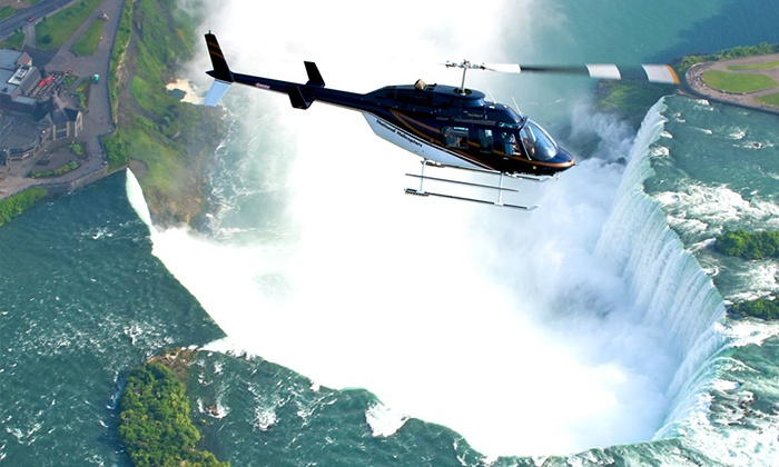 National Helicopters - Niagara District Airport Main Terminal: 20-Minute Niagara Falls Helicopter Tour for One or Two from National Helicopters in Niagara-on-the-Lake (Up to 42% Off)