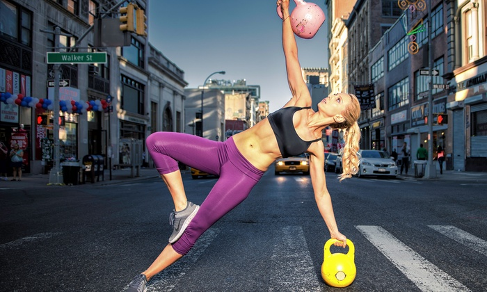 Kettlebell Kickboxing - Kettlebell Kickboxing: 5, 10, or 20 Kettlebell Kickboxing Classes at Kettlebell Kickboxing (Up to 79% Off)