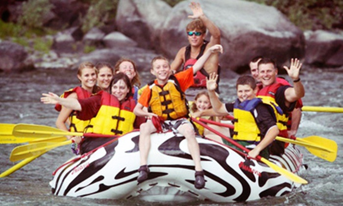 Wild West Rafting - Gardiner: $20 for an Two-Hour Whitewater-Rafting Trip from Wild West Rafting (Up to $41 Value)