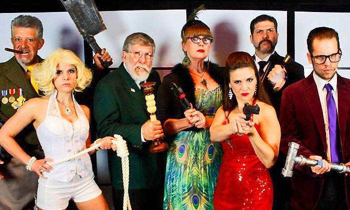 """""""I Don't Have A Clue"""" - Windows Showroom: """"I Don't Have a Clue"""" Murder-Mystery Dinner Theater at 6 p.m. Through December 31 (Up to 39% Off)"""