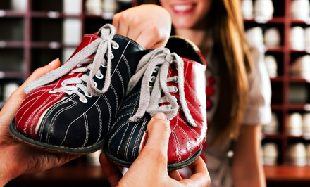 $12 for Two Games of Bowling with Shoe Rental for Two at Elk Grove Bowl (Up to $27 Value)