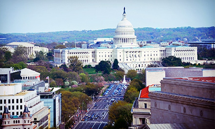 Excellent Tours - Federal Triangle: $45 for a Washington DC Buildings and Memorials Tour for Two from Excellent Tours (Up to $90 Value)