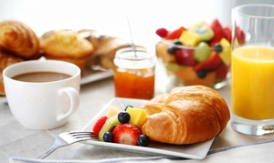 Mohegan Manor: Sunday Brunch for Four or Eight at Mohegan Manor (Up to 48% Off)
