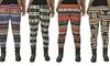 Women's Plus Size Fur-Lined Leggings: Women's Plus Size Fur-Lined Fleece Leggings