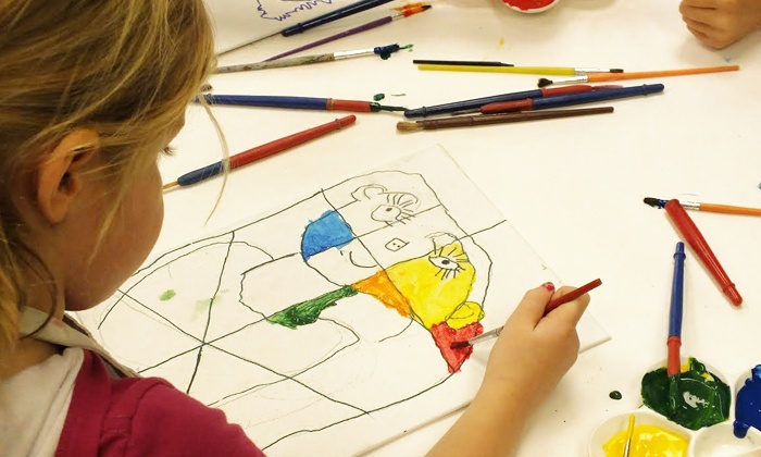 Kidcreate Studio - Woodbury: Four-Day Summer Art Camp for One or Two Children at Kidcreate Studio (Up to 45% Off)