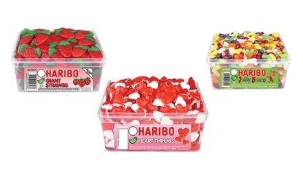 haribo gummy sweet boxes